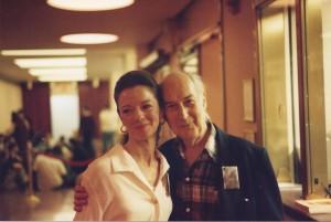 Past Board Members Margaret O'Sullivan and Thomas McNally May 1, 1994 at the Humphrey-Weidman Gala at the Sylvia & Danny Kaye Playhouse. Photo by Larry Hall.