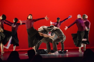 """Nimbus Dance Works performing """"Lynchtown"""" in 2013. Photo by Terry Lin."""
